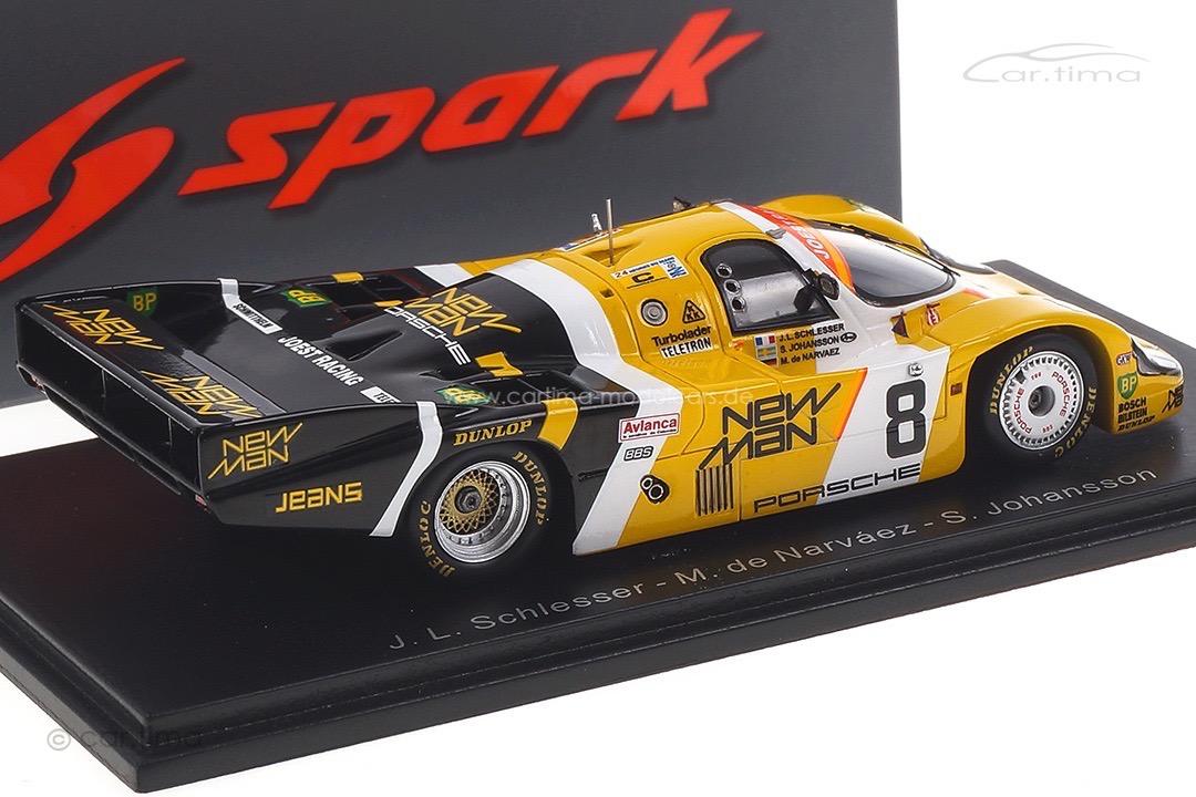 Porsche 956 L 24h Le Mans 1984 de Narváez/Johansson/Schlesser Spark 1:43 S9857