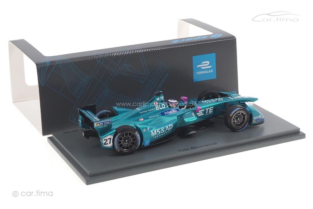 MS&AD Andretti Formula E Santiago 2017-2018 Tom Blomqvist Spark 1:43 S5939