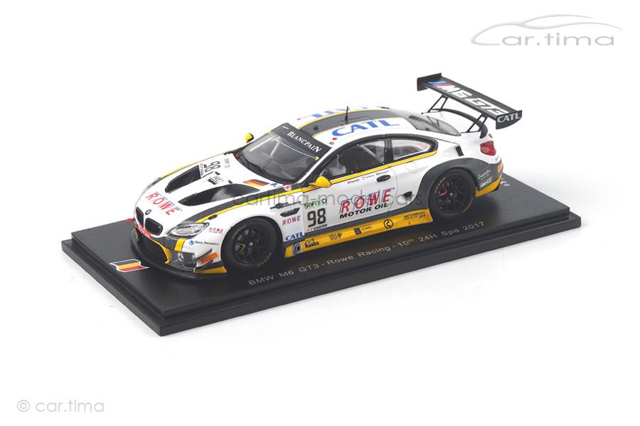 BMW M6 GT3 24h Spa 2017 Blomqvist/Catsburg/Spengler Spark 1:43 SB176