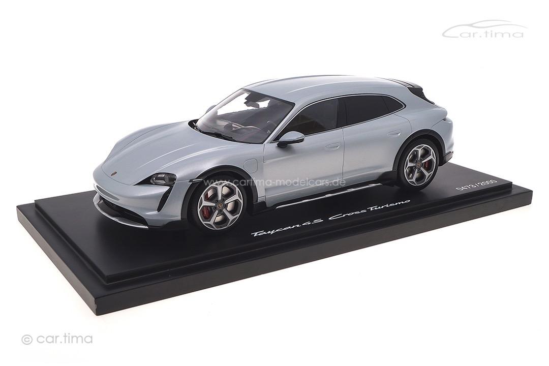 Porsche Taycan 4S Cross Turismo Eisgraumet. Minichamps 1:18 WAP0217840M004