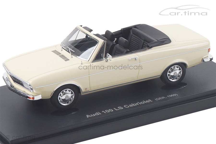 Audi 100 LS Cabriolet beige Avenue43 1:43 60011