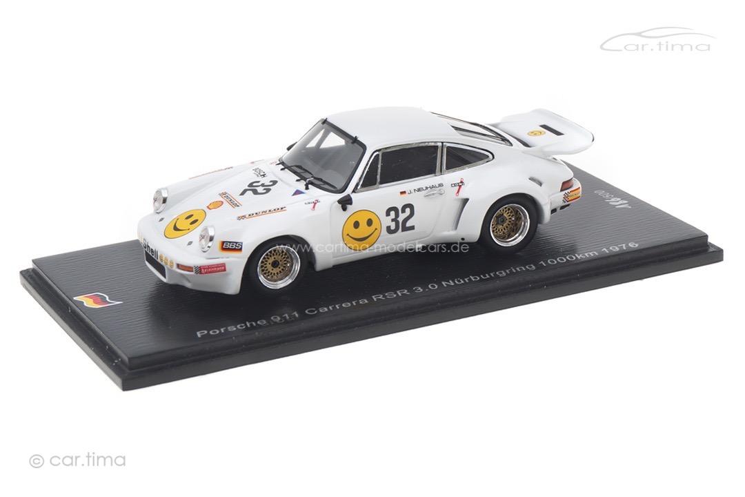 Porsche 911 Carrera RSR 3.0 1000 km Nürburgring 1976 Barth/Neuhaus Spark 1:43 SG513