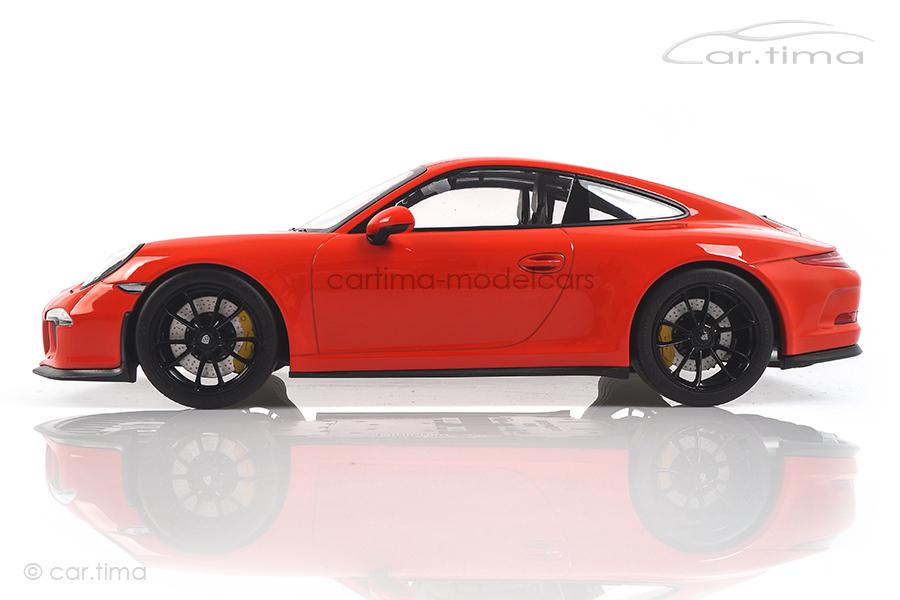 Porsche 911 (991) R Lavaorange Minichamps 1:12 125066324