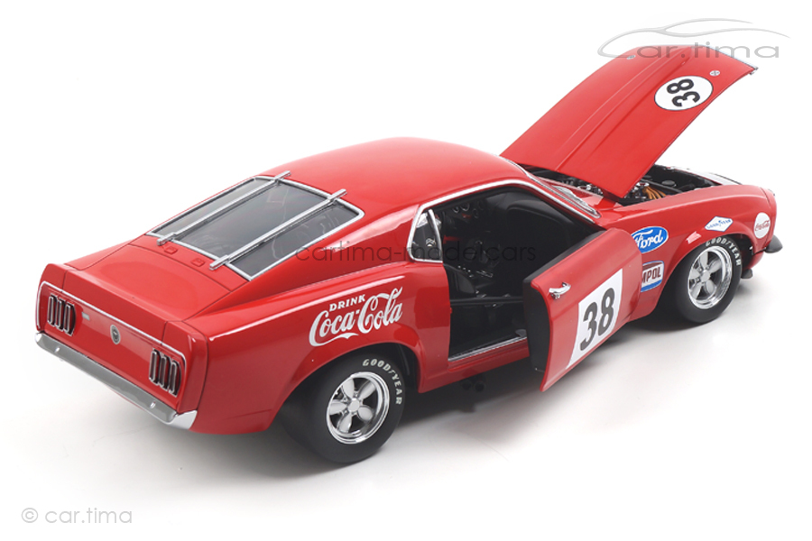 Ford Boss 302 Trans Am Mustang 1969 Allan Moffat ACME 1:18 A1801828