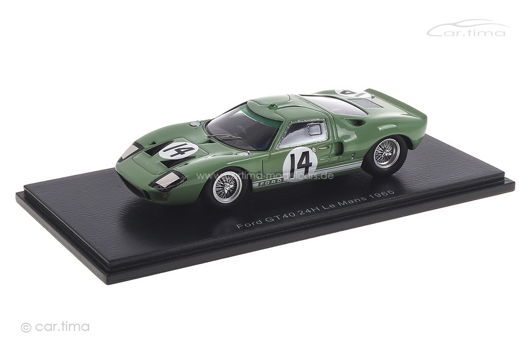 Ford GT40 24h Le Mans 1965 Ireland/Whitmore Spark 1:43 S4534