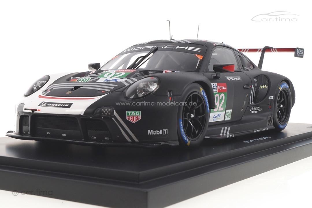 Porsche 911 RSR 24h Le Mans 2020 Christensen/Estre/Vanthoor Spark 1:18 WAP0219040MLEM
