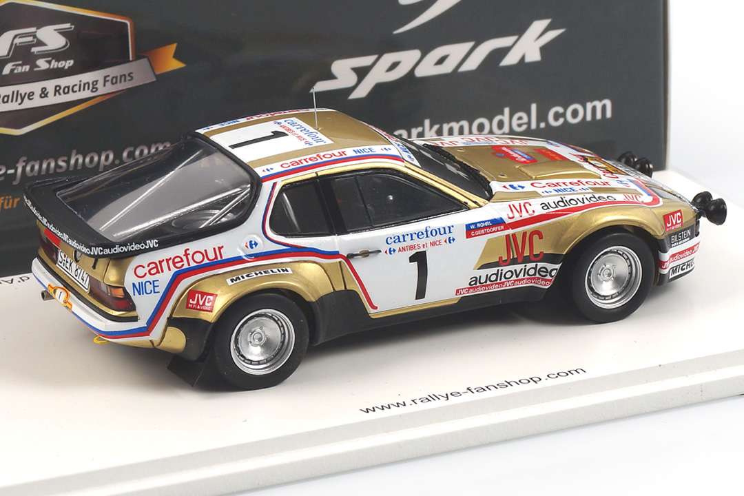 Porsche 924 Carrera GTS Rallye d´Antibes 1981 Röhrl/Geistdörfer Spark 1:43 RFS026