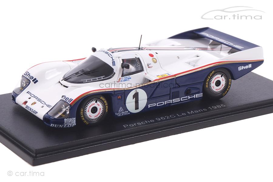 Porsche 962 C 24h Le Mans 1985 Bell/Ickx/Mass Spark 1:43 S4086