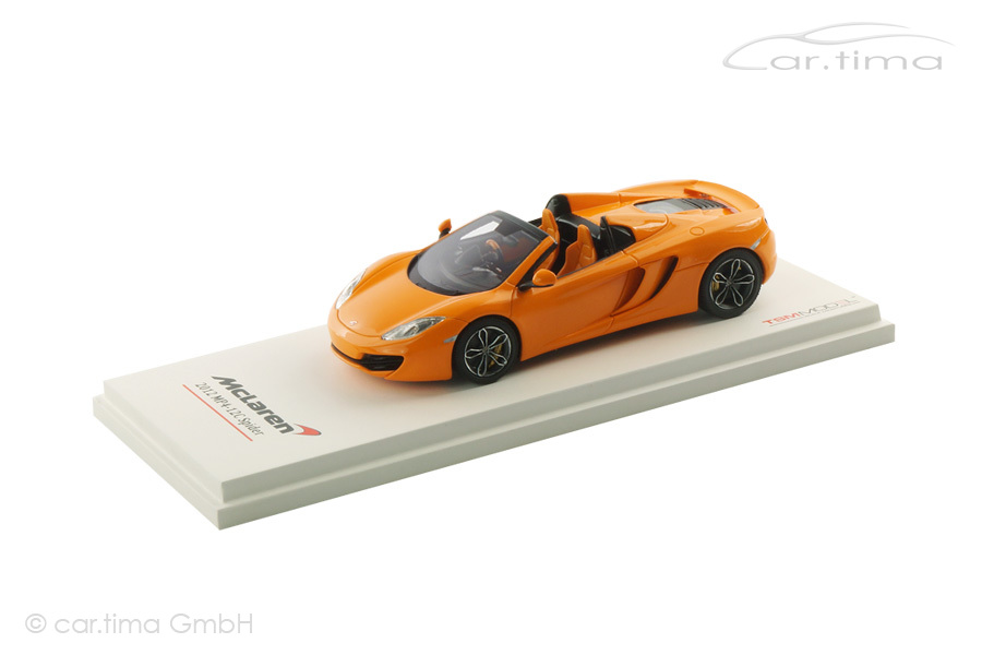 McLaren MP4-12C Spider McLaren orange TSM 1:43 TSM134337