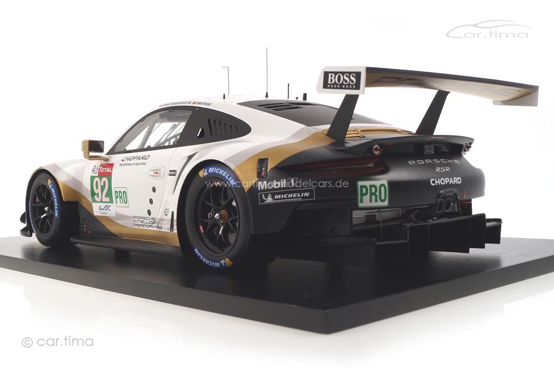 Porsche 911 RSR 24h Le Mans 2019 Estre/Christensen/Vanthoor Spark 1:12 12S018