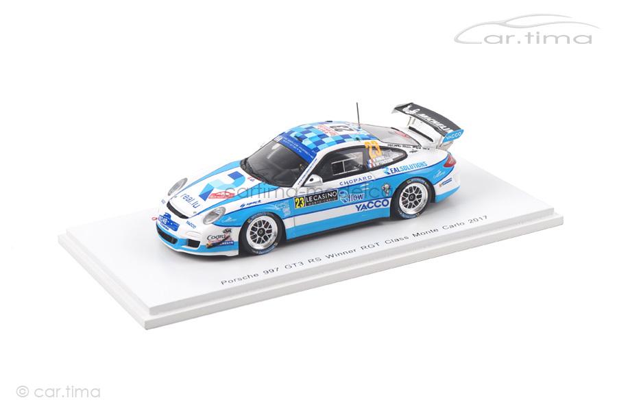 Porsche 911 (997 II) GT3 RS Winner RGT Rallye Monte Carlo 2017 Dumas Spark 1:43 S5160