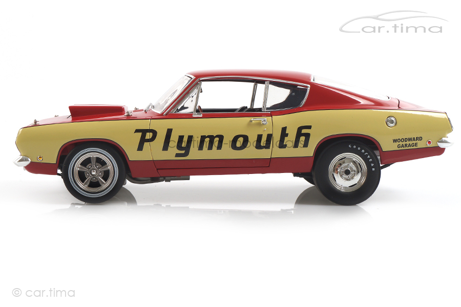Plymouth Barracuda Super Stock Test Mule ACME 1:18 A1806114