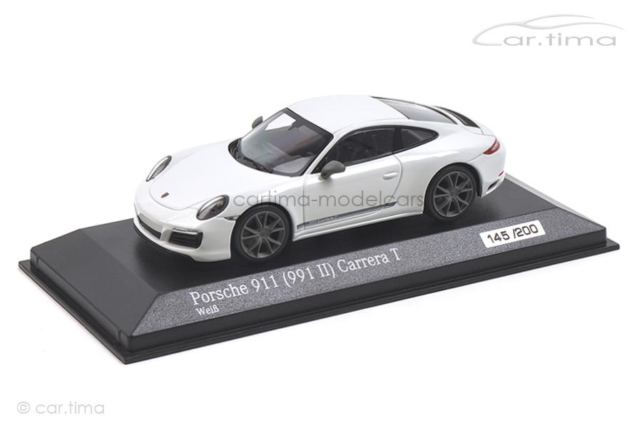 Porsche 911 (991 II) Carrera T Weiß Minichamps 1:43 CA04319003