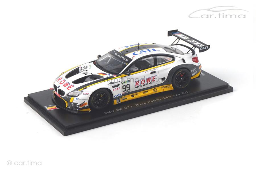 BMW M6 GT3 24h Spa 2017 Eng/Martin/Sims Spark 1:43 SB178