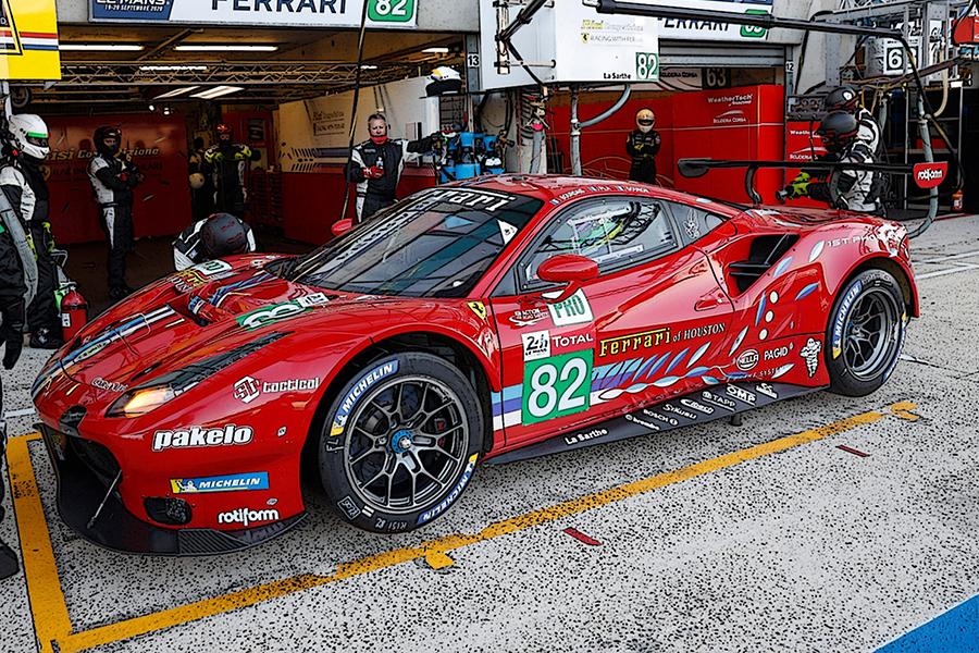 Ferrari 488 GTE Evo 24h Le Mans 2020 Bourdais/Gounon/Pla BBR 1:43 BBRC254
