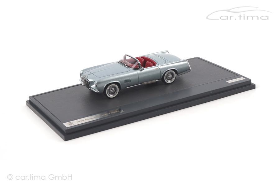 Ghia-Chrysler Falcon 1955 silber Matrix Scale Models 1:43 MX40303-021