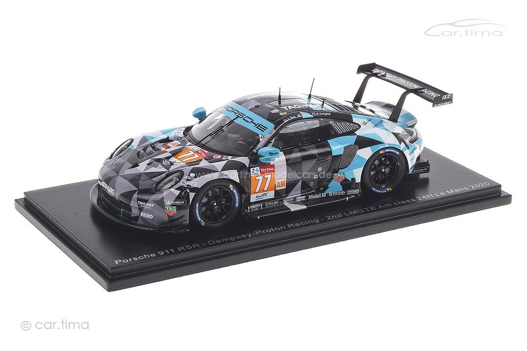 Porsche 911 RSR 24h Le Mans 2020 Campbell/Pera/Ried Spark 1:43 S7989