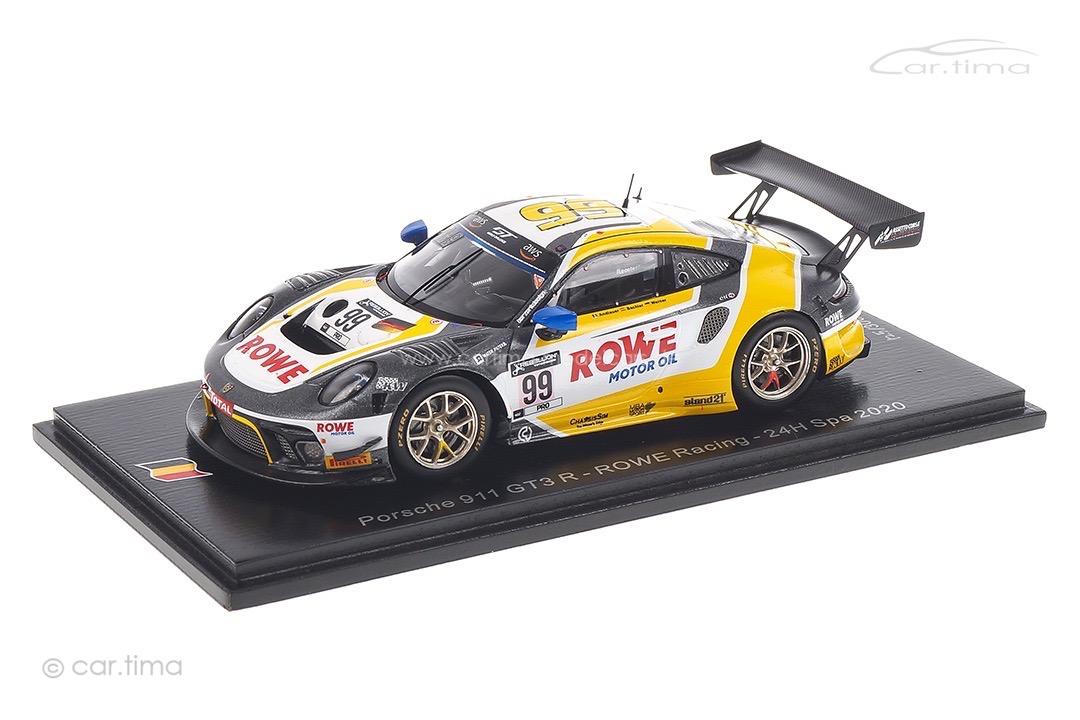 Porsche 911 GT3 R 24h Spa 2020 Andlauer/Bachler/Werner Spark 1:43 SB392