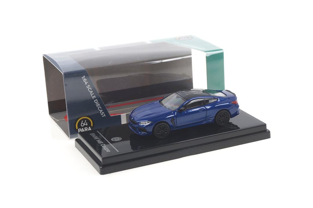 BMW M8 Coupe Marina Bay blue Paragon 1:64 PA-55212