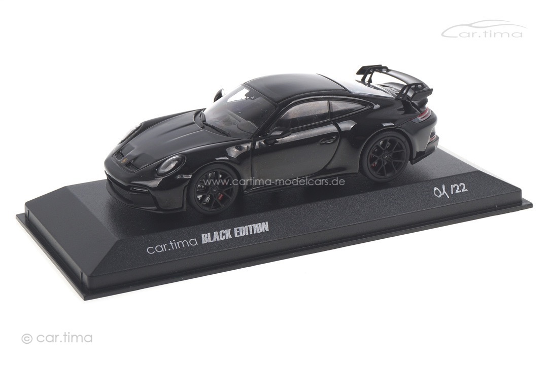 Porsche 911 (992) GT3 car.tima BLACK EDITION Minichamps car.tima CUSTOMIZED 1:43
