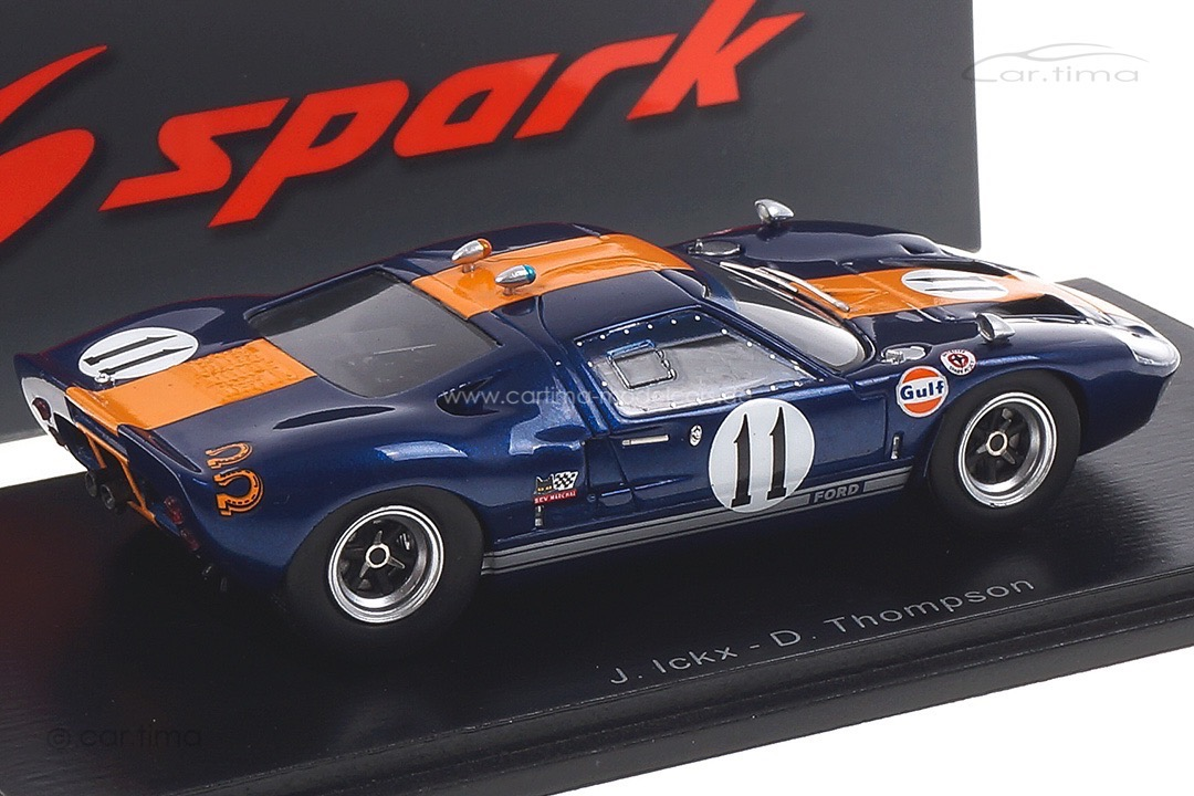 Ford GT40 6h Daytona 1967 Ickx/Thompson Spark 1:43 S4541