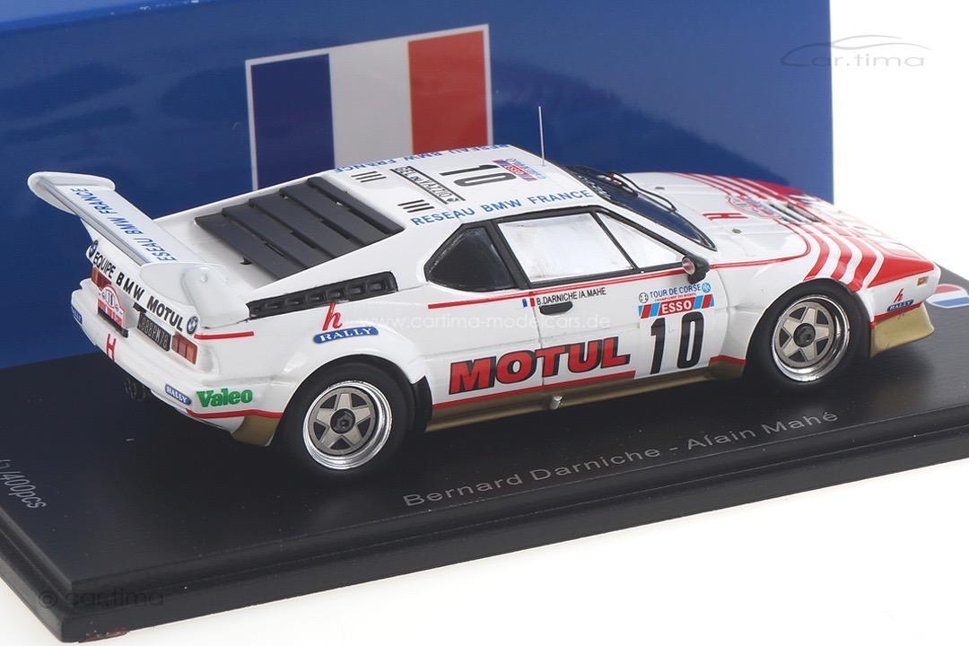 BMW M1 Tour de Corse 1982 Darniche/Mahé Spark 1:43 SF144