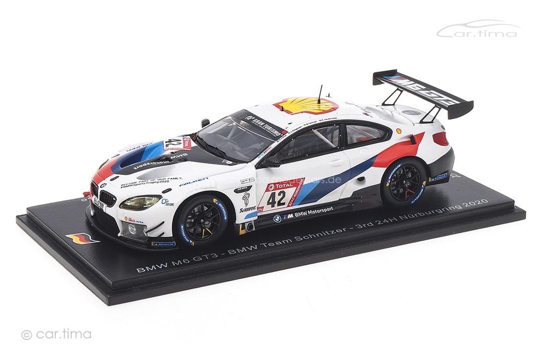 BMW M6 GT3 24h Nürburgring 2020 Farfus/Klingmann/Tomczyk/van der Linde Spark 1:43 SG682