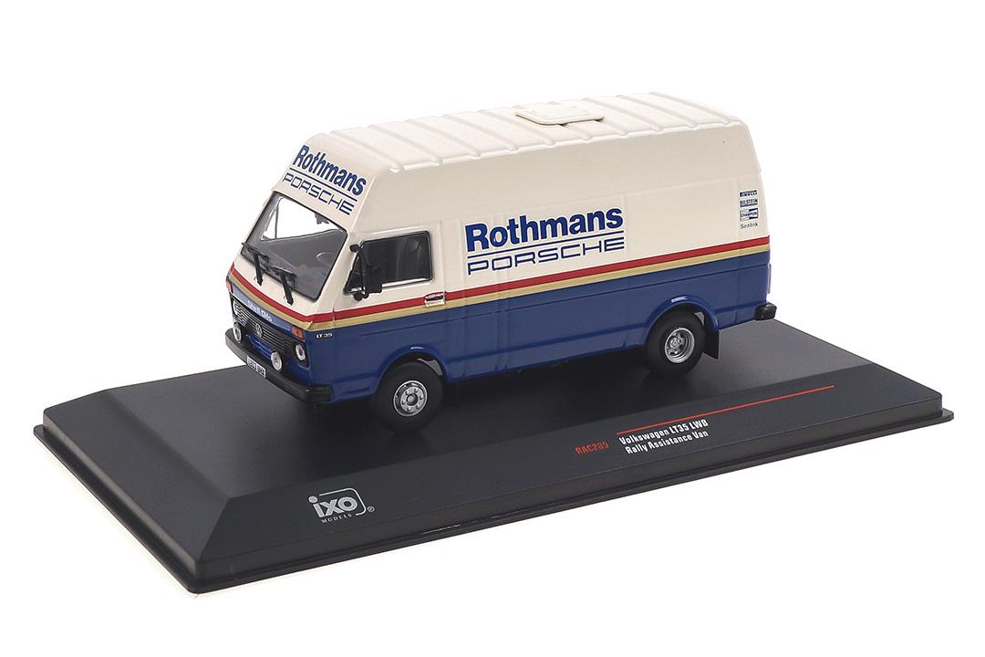 VW Volkswagen LT Rothmans Porsche Rally Assistance IXO 1:43 RAC285X