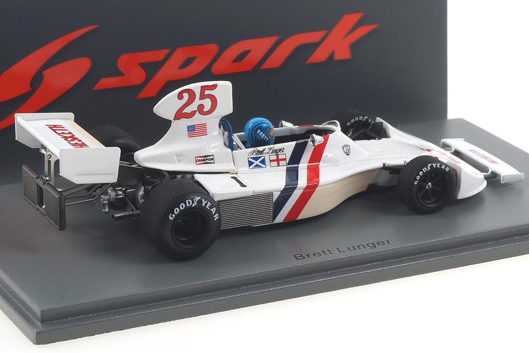 Hesketh 308 GP USA 1975 Brett Lunger Spark 1:43 S2468