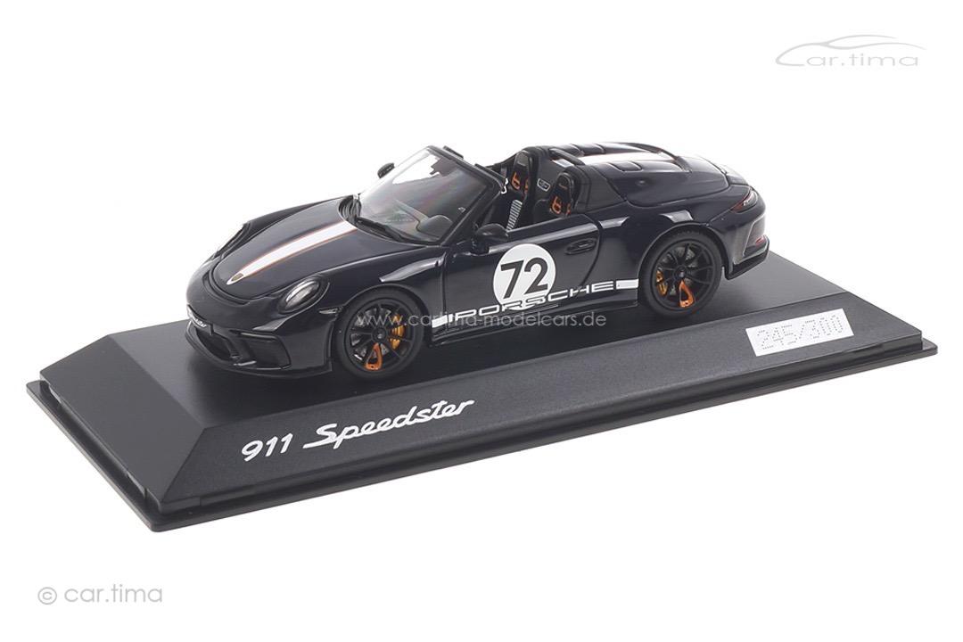 Porsche 911 (991 II) Speedster Meerblau Spark 1:43 WAXL2000007