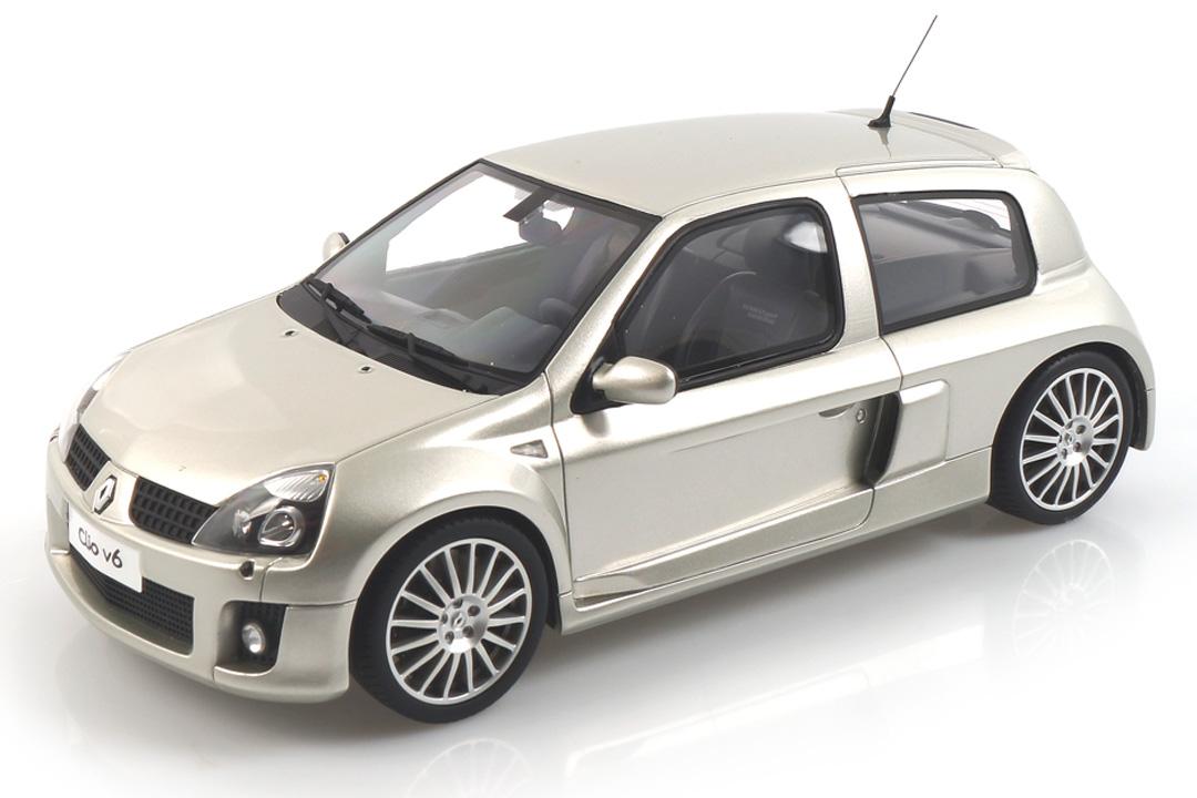 Renault Clio V6 Phase 2 Gris titanium OttOmobile 1:18 OT842