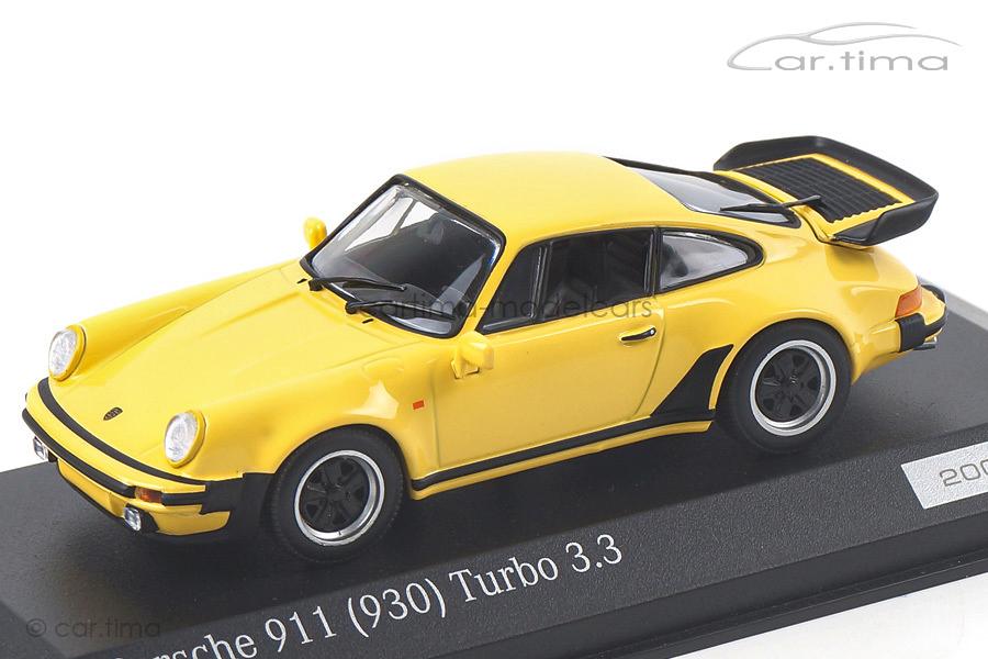 Porsche 911 (930) Turbo 3.3 Talbotgelb Minichamps 1:43 CA04316037
