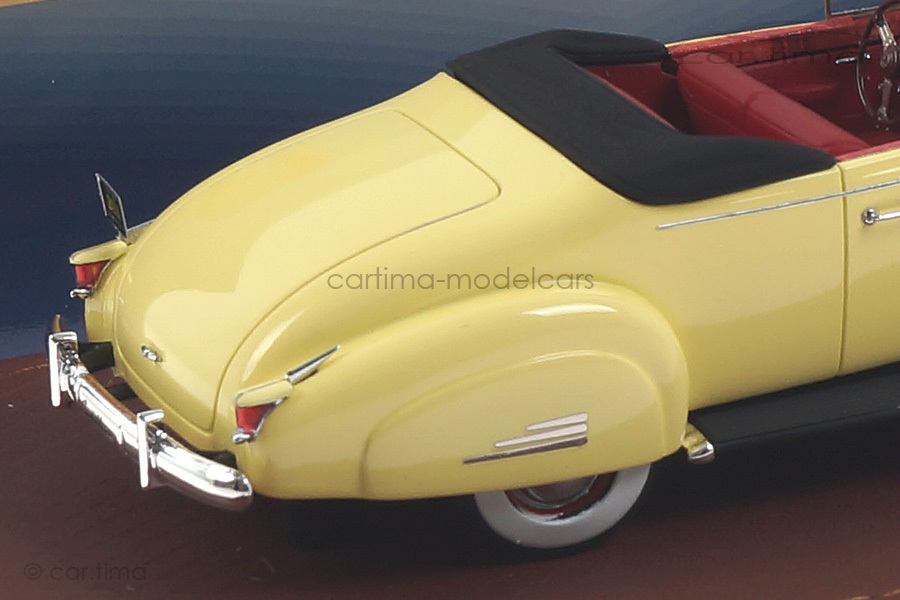 Cadillac V16 Convertible Coupe gelb GLM 1:43 GLM43101601