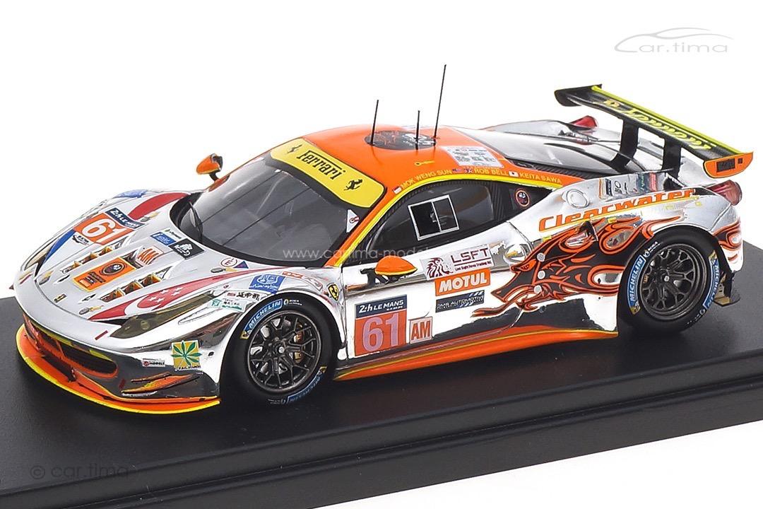 Ferrari 458 GT2 24h Le Mans 2016 Bell/Mok/Sawa LookSmart 1:43 LSLM037