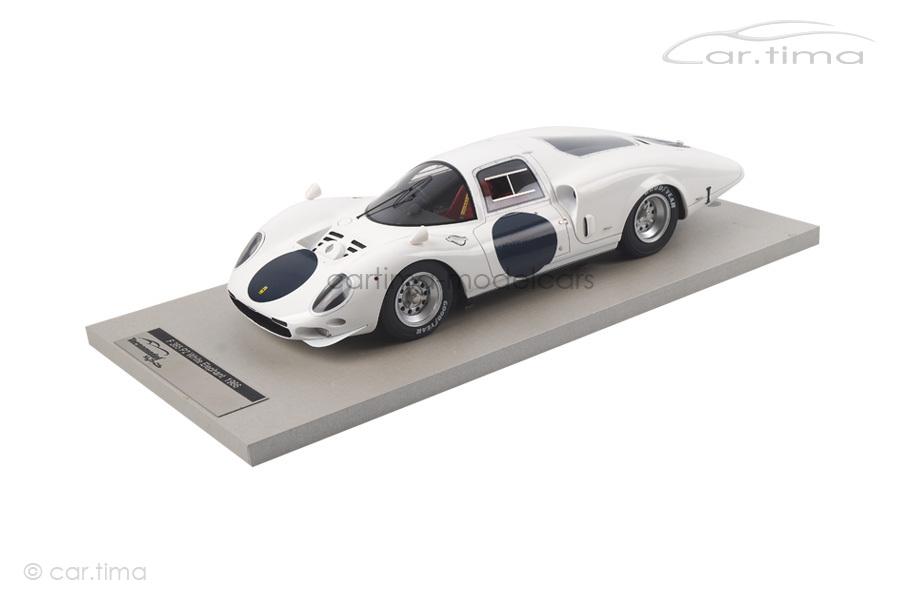 Ferrari 365 P2 White Elephant Presse Version Le Mans 1966 Tecnomodel 1:18 TM18-17A