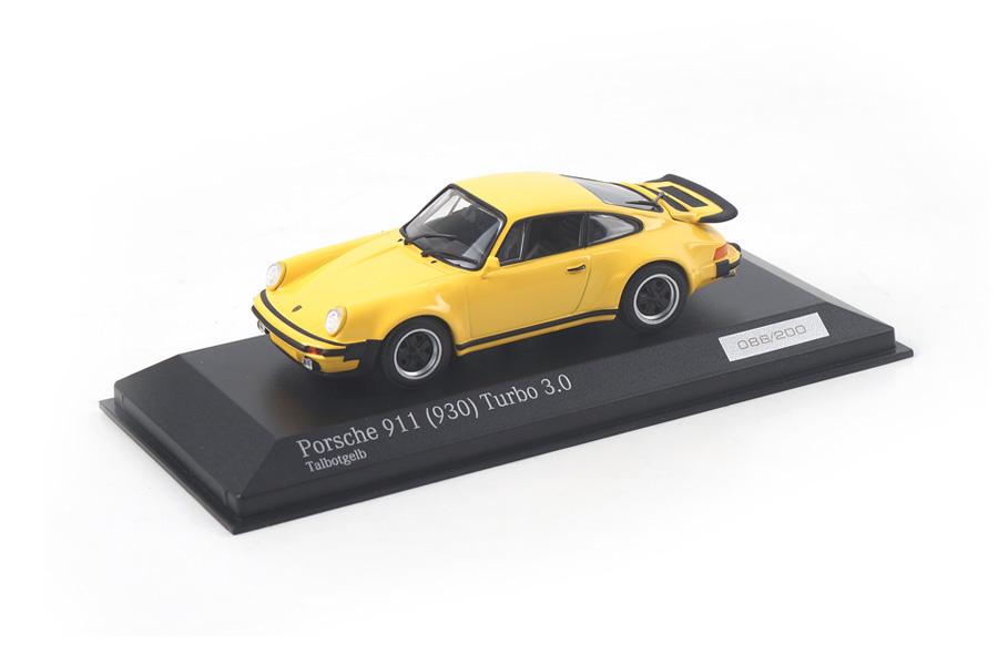 Porsche 911 (930) Turbo 3.0 Talbotgelb Minichamps car.tima EXCLUSIVE 1:43 CA04316031