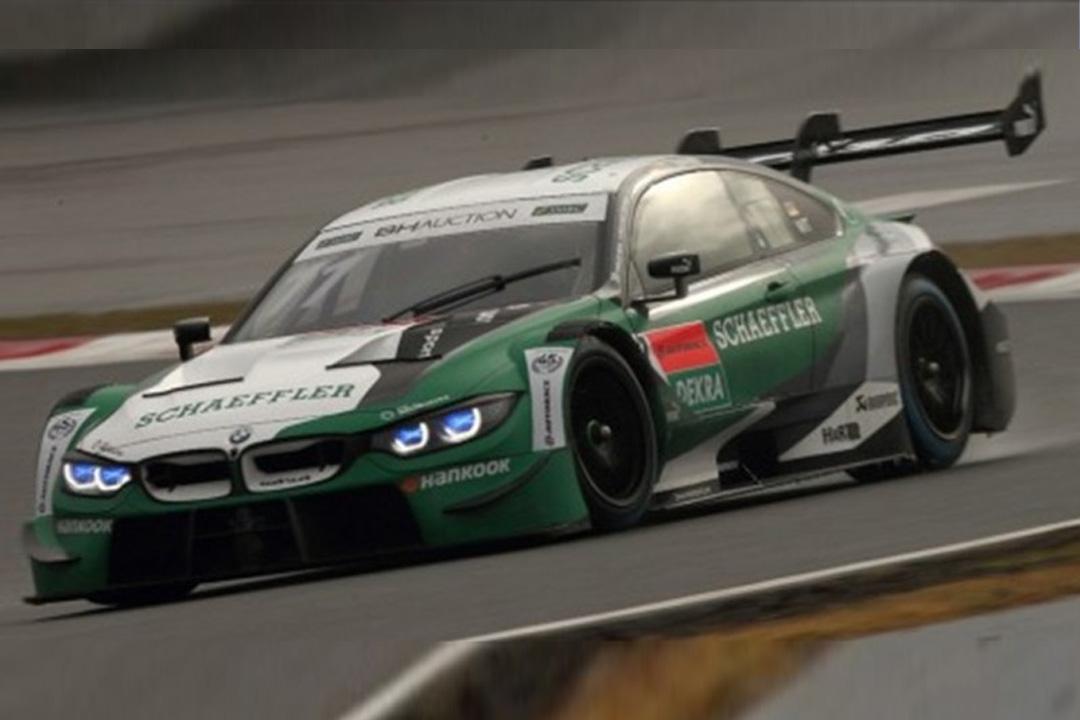 BMW M4 DTM Super GT x DTM Dream Race Fuji 2019 Marco Wittmann Spark 1:43 SG645