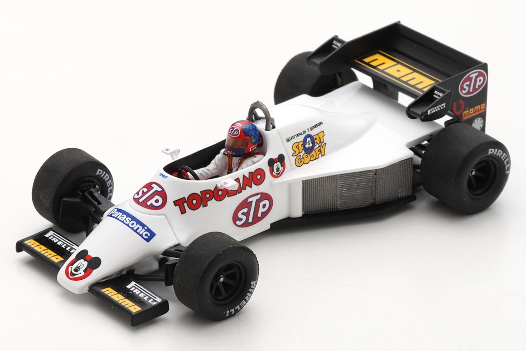 Spirit 101 Test Brasilien 1984 Emerson Fittipaldi Spark 1:43 S3925