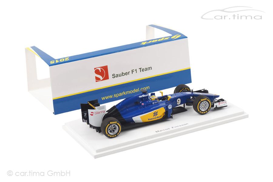 Sauber C34-Ferrari GP Australien 2015 Marcus Ericsson Spark 1:43 S4608