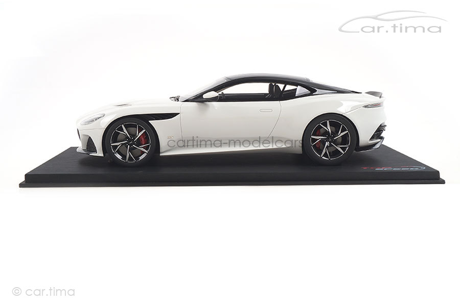 Aston Martin DBS Superleggera Stratus white TopSpeed 1:18 TS0267