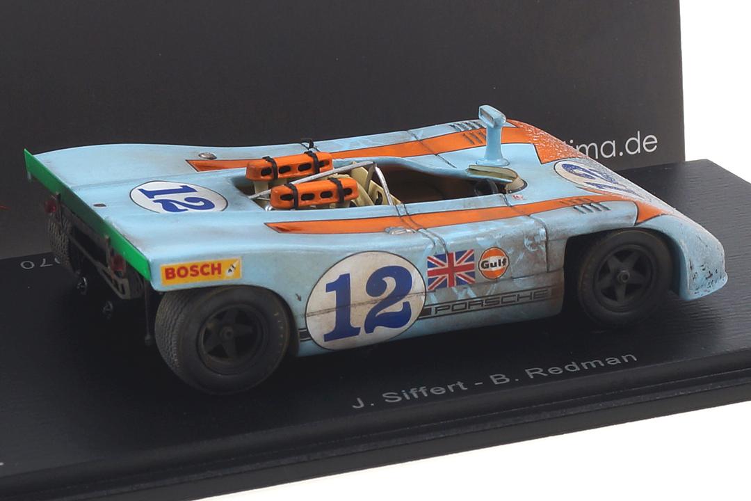 Porsche 908/03 Winner Targa Florio 1970 Siffert/Redman car.tima FINISH LINE 1:43