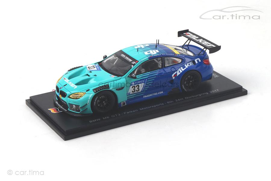 BMW M6 GT3 24h Nürburgring 2017 Falken Motorsport Spark 1:43 SG337
