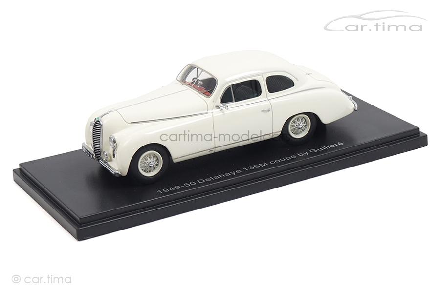 Delahaye 135M Coupe by Guilloré weiß Esval Models 1:43 EMEU43010B