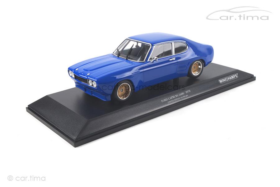 Ford RS 2600 1970 blau Minichamps 1:18 155708501