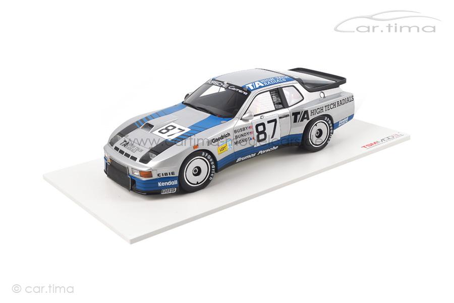Porsche 924 GTR Class Winner 24h Le Mans 1982 Busby/Bundy/Mignot TSM 1:18 TSM141824R