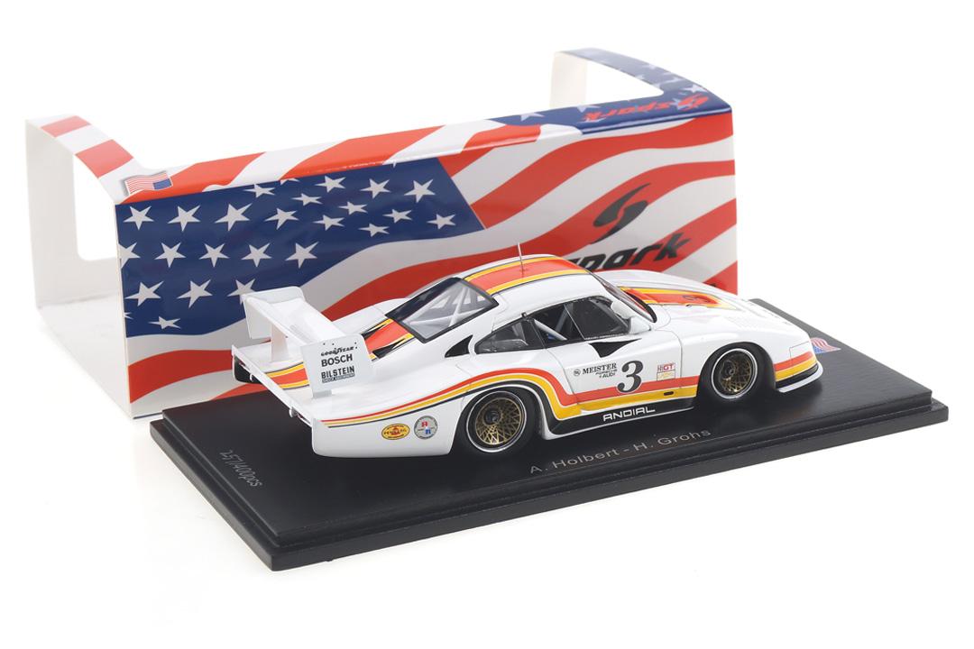 Porsche 935 L 6h Riverside 1982 Holbert/Grohs Spark 1:43 US092