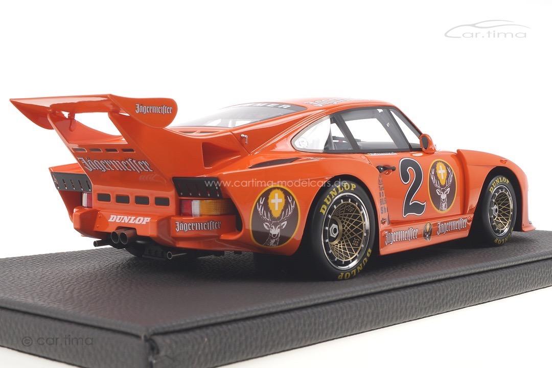 Porsche 935 K3 DRM Zolder 1980 Axel Plankenhorn Top Marques 1:18 TOP108A