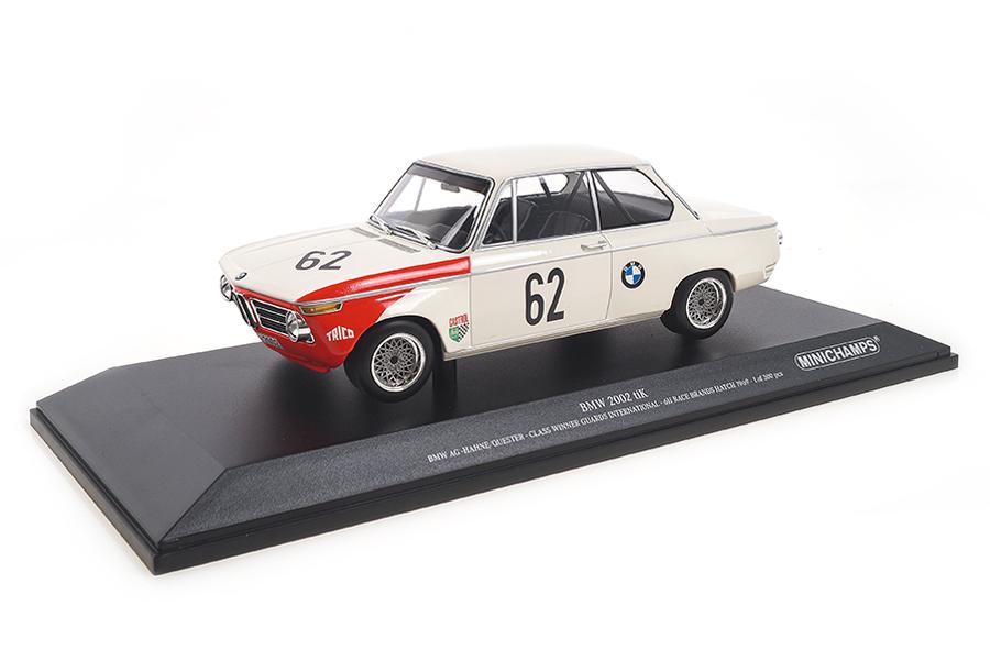 BMW 2002 Class Winner Brands Hatch 1969 Hahne/Quester Minichamps 1:18 155692762