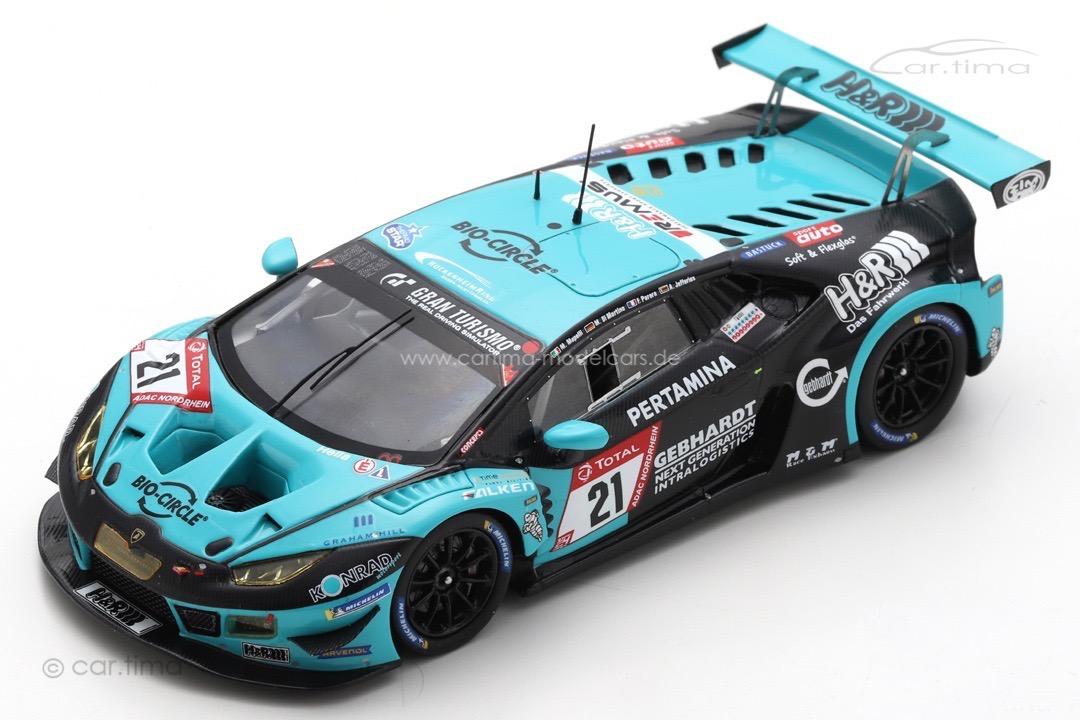 Lamborghini Huracán GT3 Evo 24h Nürburgring 2020 Di Martino/Mapelli/Perera Spark 1:43 SG711
