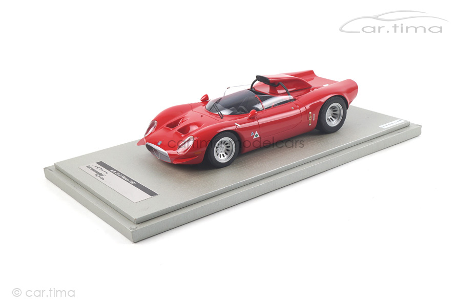 Alfa Romeo 33.2 Periscopio Pressevorstellung 1967 Tecnomodel  TM18-49A